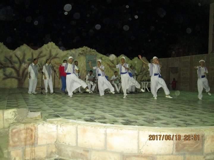 فرقة بورسعيد للفنون الشعبية تبدع فى مركز شباب فيصل بالسويس