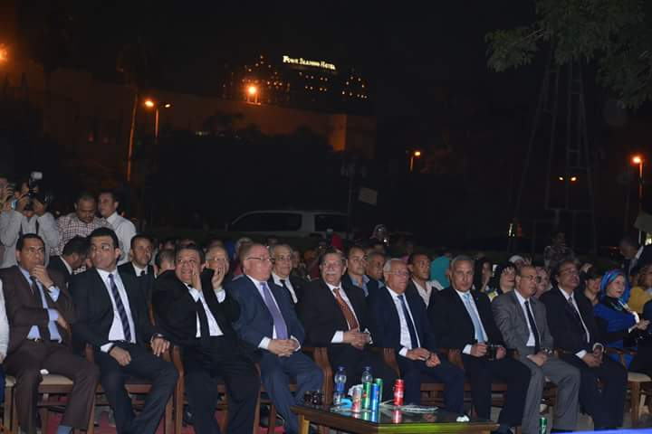 وزير الثقافة في احتفالية قناة السويس