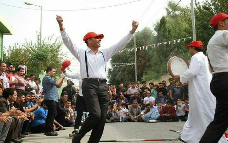 فرقة السويس لمسرح الشارع تشارك في مهرجان بغداد الدولي _  التنوير – eltanwer