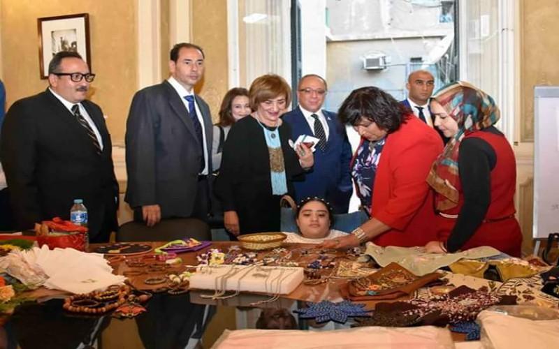وزير الثقافة تشهد انطلاق فعاليات الأنشطة الفنية لمؤسسة اولادنا. التنوير _ eltanwer