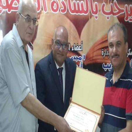 نادي أدب فيصل يكرم الأديب عادل ابو عويشة. التنوير_ eltanwer