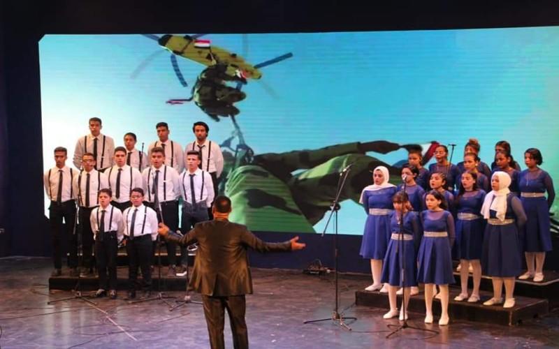 كورال مركز شباب فيصل يشارك في مسابقة كنوز مصرية على مسرح وزارة الشباب والرياضة