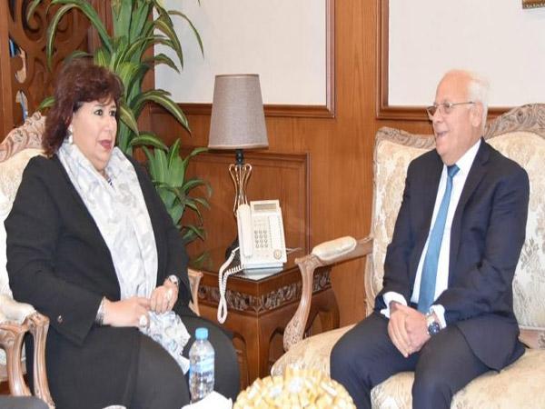 اعلان بورسعيد عاصمة الثقافة المصرية لعام2020 بالمؤتمر العام لأدباء مصر
