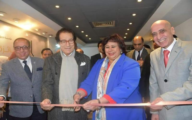 وزير الثقافة تشهد توزيع جوائز مسابقة مؤسسة فاروق حسني للفنون